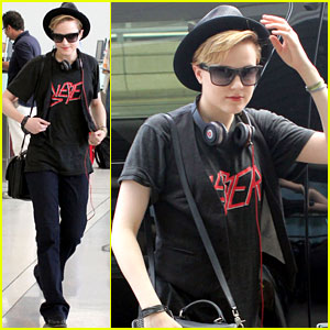 Evan Rachel Wood Leaves Toronto