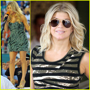 Fergie Takes Flight With Josh Duhamel