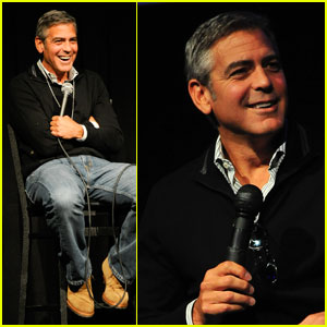 George Clooney Discusses 'Descendants' in Telluride