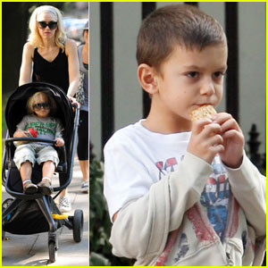 Gwen Stefani Takes Kingston & Zuma to the Zoo