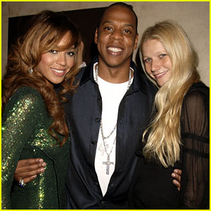 Gwyneth Paltrow: Birthday Dinner with Beyonce & Jay-Z!