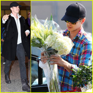 Hayden Christensen Touches Down in Toronto