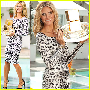 Heidi Klum: 'Shine' Fragrance Launch!