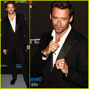 Hugh Jackman: 'Real Steel' Paris Premiere!