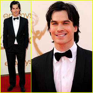 Ian Somerhalder - Emmys 2011 Red Carpet