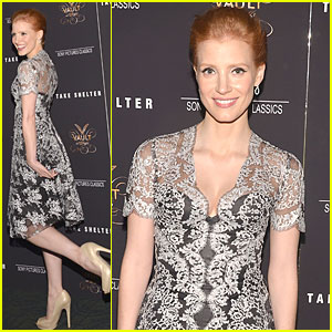 Jessica Chastain: 'Take Shelter' Premiere in NYC