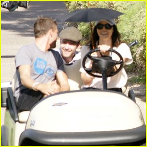 Justin Timberlake: Shriners Open With Jessica Biel!