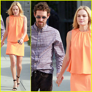 Kate Bosworth Checks Out 'Chelsea Lately'