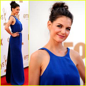 Katie Holmes - Emmys 2011 Red Carpet