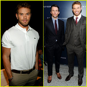Kellan Lutz: Fashion Week Fun with James Marsden