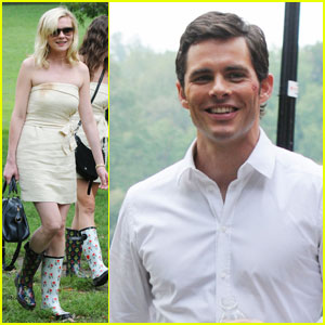 Kirsten Dunst & James Marsden: 'Bachelorette' in Brooklyn