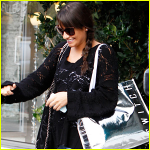 Lea Michele: Retail Therapy in Beverly Hills!