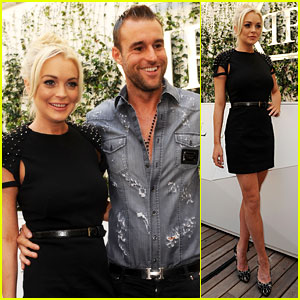 Lindsay Lohan: Philipp Plein's New Face!