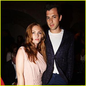 Mark Ronson: Married to Josephine de la Baume!