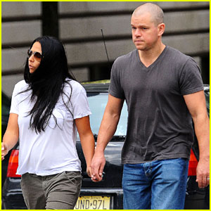 Matt Damon: Jake Gyllenhaal Bald Envy!