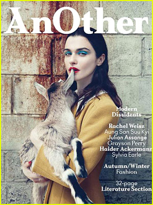 Rachel Weisz Covers 'AnOther Magazine' Issue 21