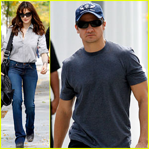 Rachel Weisz: 'The Bourne Legacy' Set with Jeremy Renner!