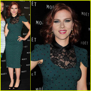 Scarlett Johansson Sings for Moet's New Ad
