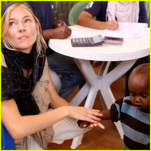 Sienna Miller Visits Ethiopia With International Medical Corps