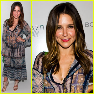 Sophia Bush: BCBG Max Azria Fashion Show!