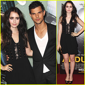 Taylor Lautner & Lily Collins: 'Abduction' UK Premiere!