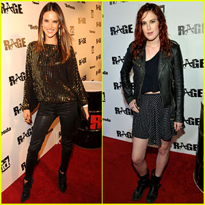 Alessandra Ambrosio & Rumer Willis: Rage Launch Party!