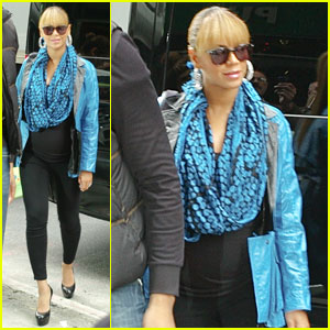Beyonce: Feeling Blue in NYC