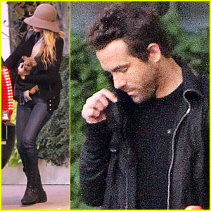 Blake Lively & Ryan Reynolds Step Out on Sunday