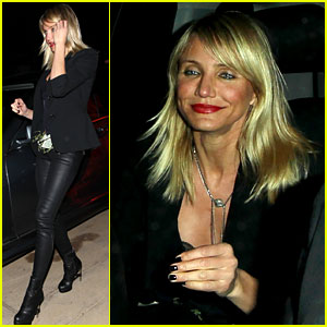 Cameron Diaz Dresses Up as a Stripper For Halloween