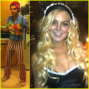 Celebrities' Halloween Costumes Revealed