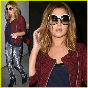 Cheryl Cole: Speedy LAX Arrival