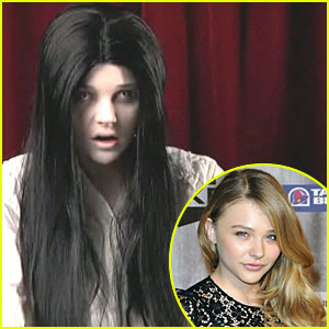 Chloe Moretz: Funny or Die's Scary Girl!
