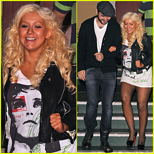 Christina Aguilera & Matt Rutler: Off Vine Dinner Date!