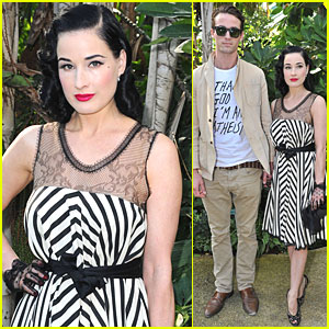 Dita Von Teese: Alexis Mabille Show at Paris Fashion Week!
