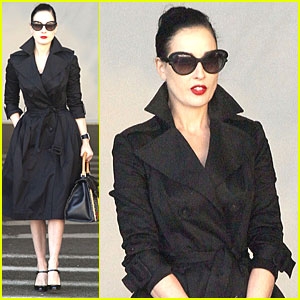 Dita Von Teese Talks Dressing Like a 'Normal Girl' on Halloween