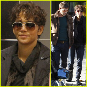 Halle Berry: KaDeWe Shopping With Olivier Martinez