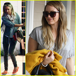 Hilary &#038; Haylie Duff: Salon Trip with Ashley Tisdale!