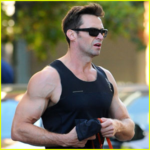 Hugh Jackman Talks Karaoking With Robert Pattinson