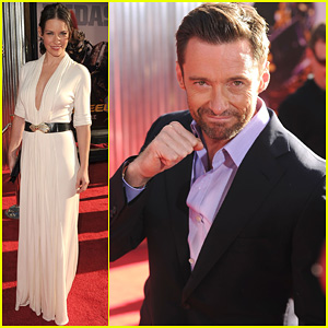 Hugh Jackman: 'Real Steel' Universal City Premiere!