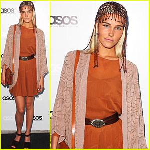 Isabel Lucas Launches Asos in Australia