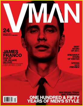 James Franco Covers 'Vman' Magazine
