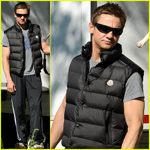 Jeremy Renner: 'Bourne' in NYC