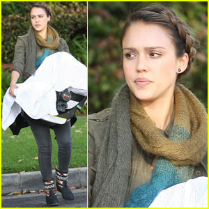 Jessica Alba Debuts Baby Haven!