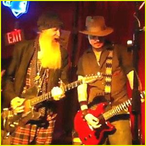 Johnny Depp: Surprise Texas Concert with ZZ Top Guitarist!