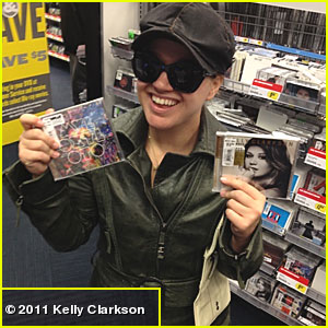 Kelly Clarkson: Buying the Two Best Albums Out This Year!