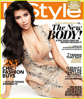 Kim Kardashian Covers 'InStyle Australia' November 2011