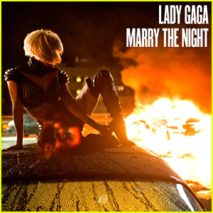 Lady Gaga: 'Marry the Night' Cover Art!
