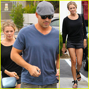 LeAnn Rimes & Eddie Cibrian: Halloween Costumes Are 'Hot Stuff'