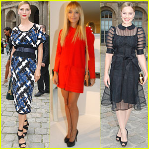 Uma Thurman &#038; Abbie Cornish: Louis Vuitton at Paris Fashion Week!