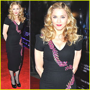 Madonna: 'W.E.' Premiere at BFI London Film Fest!